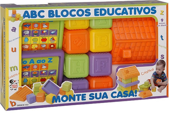 ABC Blocos Educativos - PicaPau