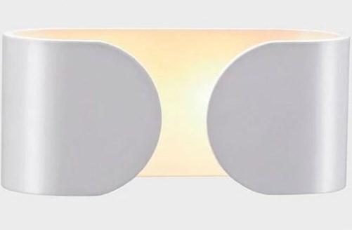 Arandela LED Externa 6W Retangular IP44 Branco Quente Branco Quente