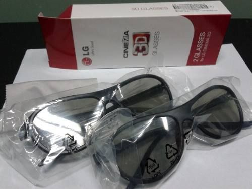 c520d18223a54 Par Óculos 3d Passivo - Lg Ag-f310 - Original por R 48,00
