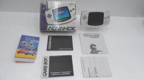 Console Game Boy Advance Branco Com Caixa E Manual