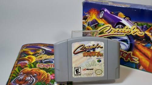 Cruisn Exotica Completo P/ Nintendo 64