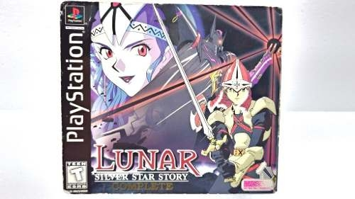 Lunar Silver Star Story P/ Playstation One Ps1