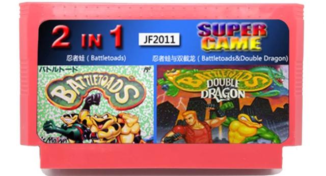 2 in 1 Battletoads / Battletoads e Double Dragon