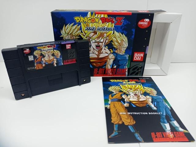 Dragon Ball Z Hyper Dimension P/ Super Nintendo Repro