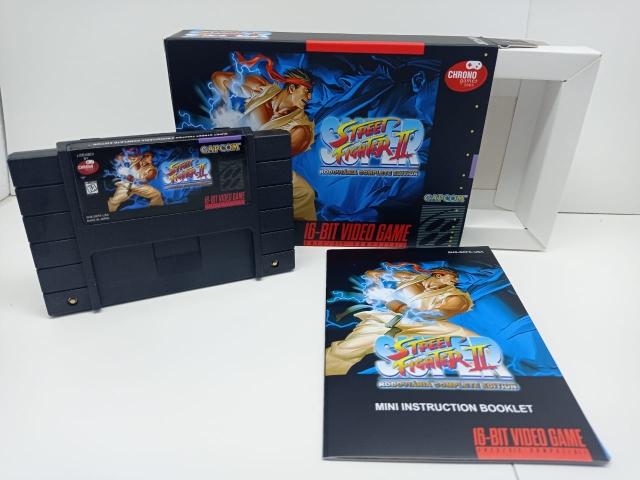 Super Street Fighter II Rodoviária Complete Collection P/ Super Nintendo Repro