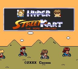 Hyper Street Kart P/ Super Nintendo Repro
