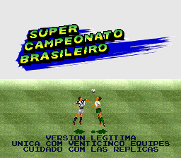 Campeonato Brasileiro 2020 P/ Super Nintendo Repro