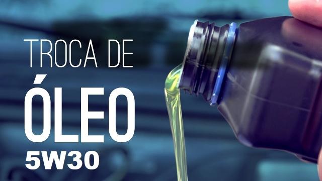 TROCA DE 4L de ÓLEO 5W30 + FILTRO DE ÓLEO*