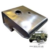 Tanque De Combustível Em Inox Para Jeep Mb42