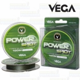 Linha Vega multifilamento Power Shot 0,22 mm - 150 m - Resist. 34,10 lb