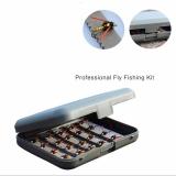 KIT FLY CARRIBEAN FISHING Iscas para fly caixa com 40 iscas