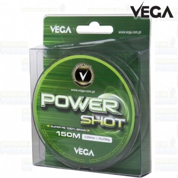 Linha Power Shot Vega 0,27 mm - 150 m - Resist. 20