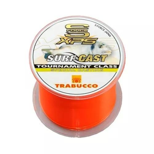 Linha Trabucco XPS Surf Cast 300 m 0,40 mm laranja