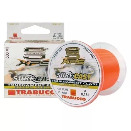 Linha Trabucco XPS Surf Cast 300 m 0,40 mm laranja 42 lb