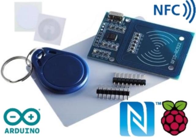 Kit Desenvolvimento RFID NFC IoT Para Arduino Raspberry SDK