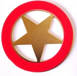 Aplique de carro Estrela do Oriente