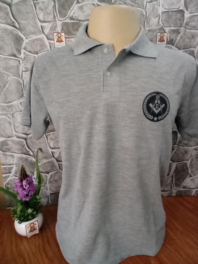 Camisa Pólo Cinza