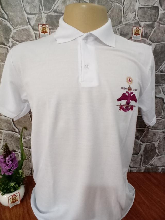 Camisa Polo 2 - Frente e Costas
