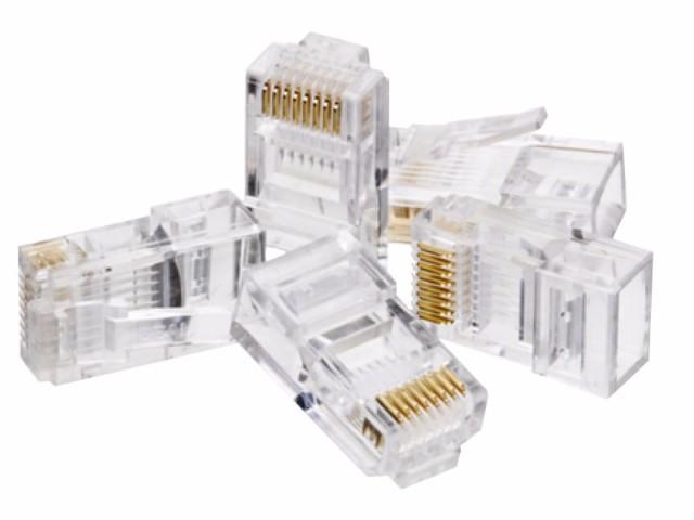 Conector RJ 45 Macho Pacote com 10 peças
