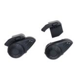 Par de Intercomunicador para Capacete com Bluetooth Alcance até 10m para Musica e Ligação Preto Multilaser - MT605