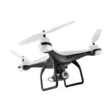 Drone Multilaser Fenix GPS FPV Câmera FULL HD 1920P Alcance de 300m Bateria de 16 min Branco - ES204