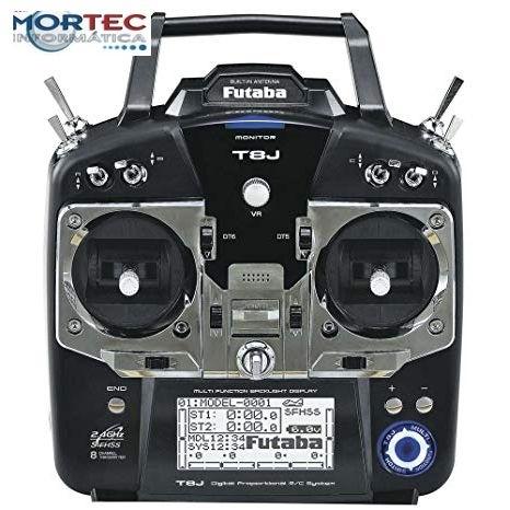 Radio Futaba T8J 2.4 Ghz novo