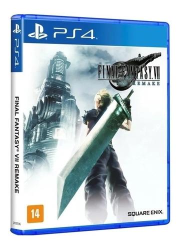 Jogo Final Fantasy 7 Vii Remake Square Enix Midia Fisica Ps4