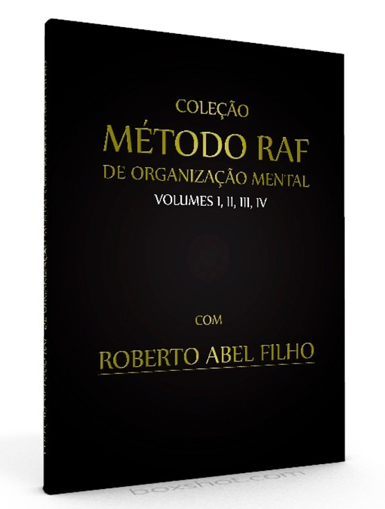 Coleção Método RAF - volumes I, II, III, IV - E-book