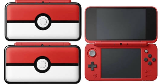 New 2ds pokeball edition