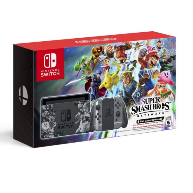 Nintendo Switch Bundle Super Smash Bros. Ultimate