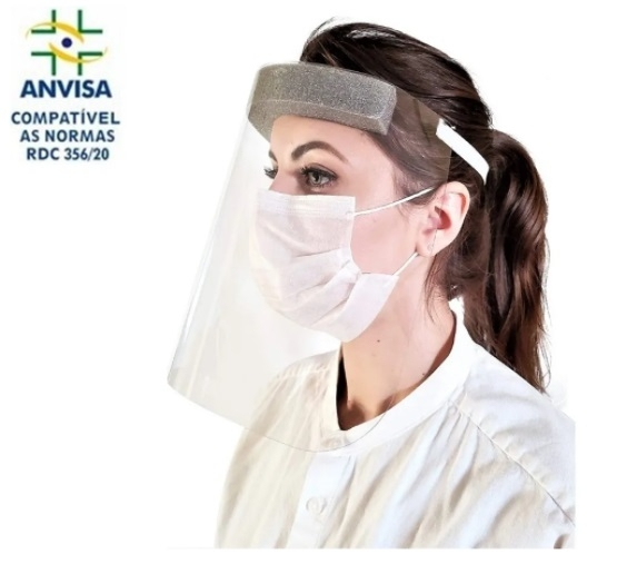 PROTETOR FACIAL Face Shield CONTRA COVID