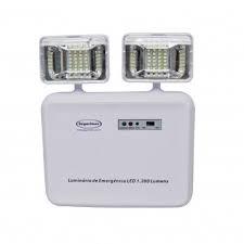 Lâmpada Emergência (Bloco Autônomo) 1200 Lumens