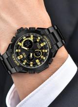 Relógios de luxo Masculino à prova dágua Smael, com Frete Grátis para todo Brasil