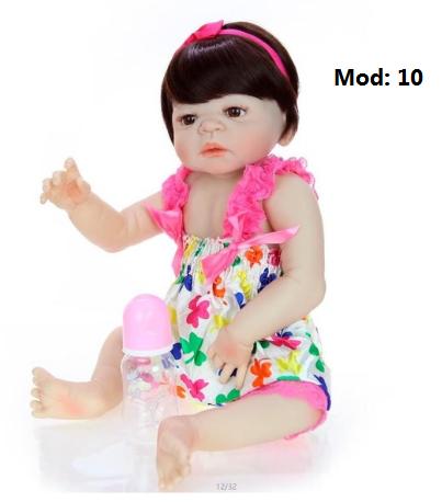 Bebê Reborn em Silicone com Frete Grátis Brasil 4 modelos