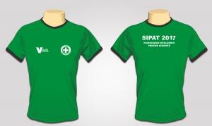 Camiseta SIPAT/CIPA - Malha Fria Verde (PRODUTO TEMPORARIAMENTE INDISPONÍVEL)