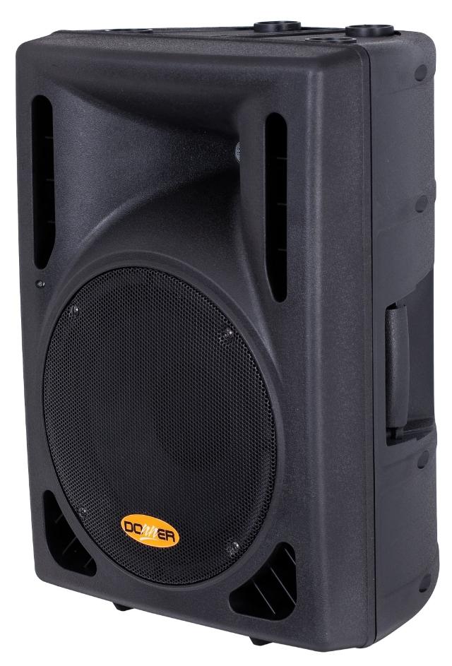 Caixa Donner Clarity Ativa 12 , com usb, Bluetooth e radio fm, 200wrms
