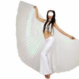 Véu Asas wings DE ISIS Branco FurtaCor Borboleta,Cristal Tamanho 5 Metros( Fechado)