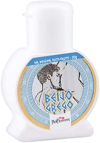 BEIJO GREGO - Uso Oral Anal Beijável Tutti Frutti