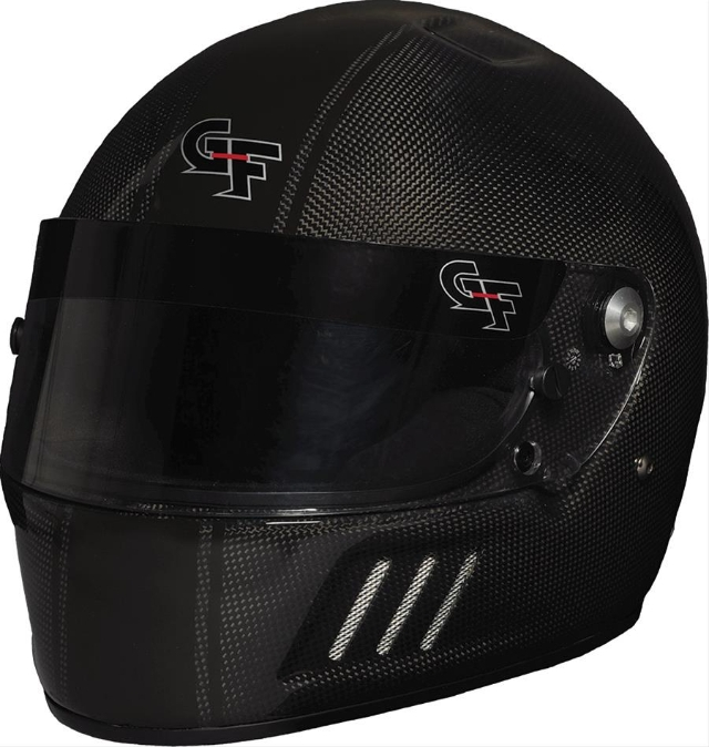Capacete G-force Fibra De Carbono Arrancada