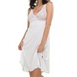 Camisola Gemma DeMillus 030249 Cores: Branco, Preto e Salmão Tamanhos PE, ME e GR