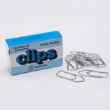 CLIPS NIQUELADO N. 8/0 BACCHI C/25UNID