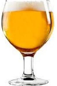 A Belgian Blonde Beer