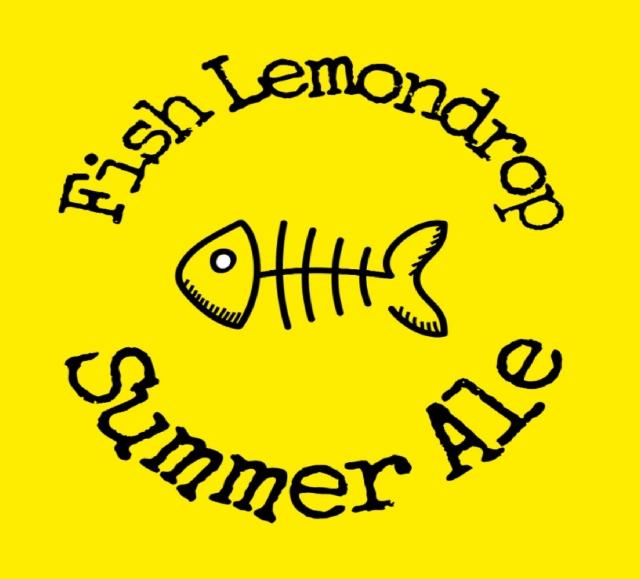 Summer Fish Lemondrop cerveja leve frutada Cítrica refrescante! Com Capim Limão e lúpulo Lemondrop