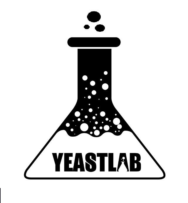 YeastLab YLB1010 / Kveik Da Noruega conhecida como Voss. Neutra em temperaturas baixa, e mais frutada com temperaturas mais altas. : 18°C - 37°C