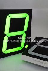Display 7 segmentos; 1 Dígito; 4 Polegadas; Verde; Anodo