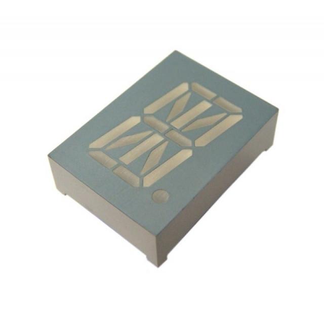 DISPLAY DE LED ALFANUMERICO; 1 Dígito; 0,80 Polegadas; Azul; Anodo