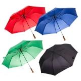 Guarda-chuva com cabo de madeira, Mínimo 10 peças Cód. 13565