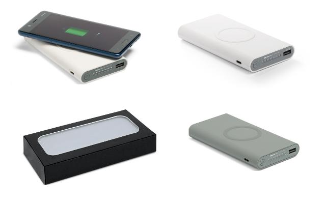 Não deixe acabar a bateria de seu celular de ultima hora , tenha carregador portátil wireless 11000mah