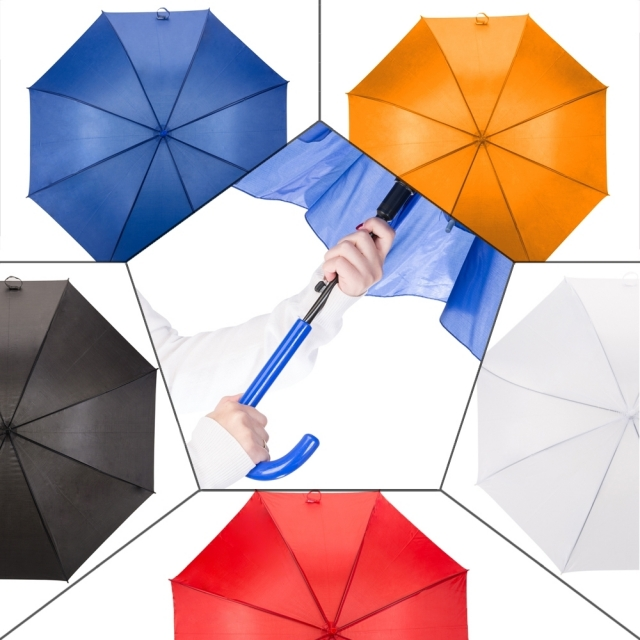 Guarda-chuva colorido automático, Mínimo 20 peças. Cód. 2075