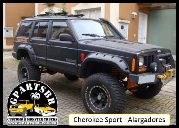 Alargadores 8 peças Cherokee Sport